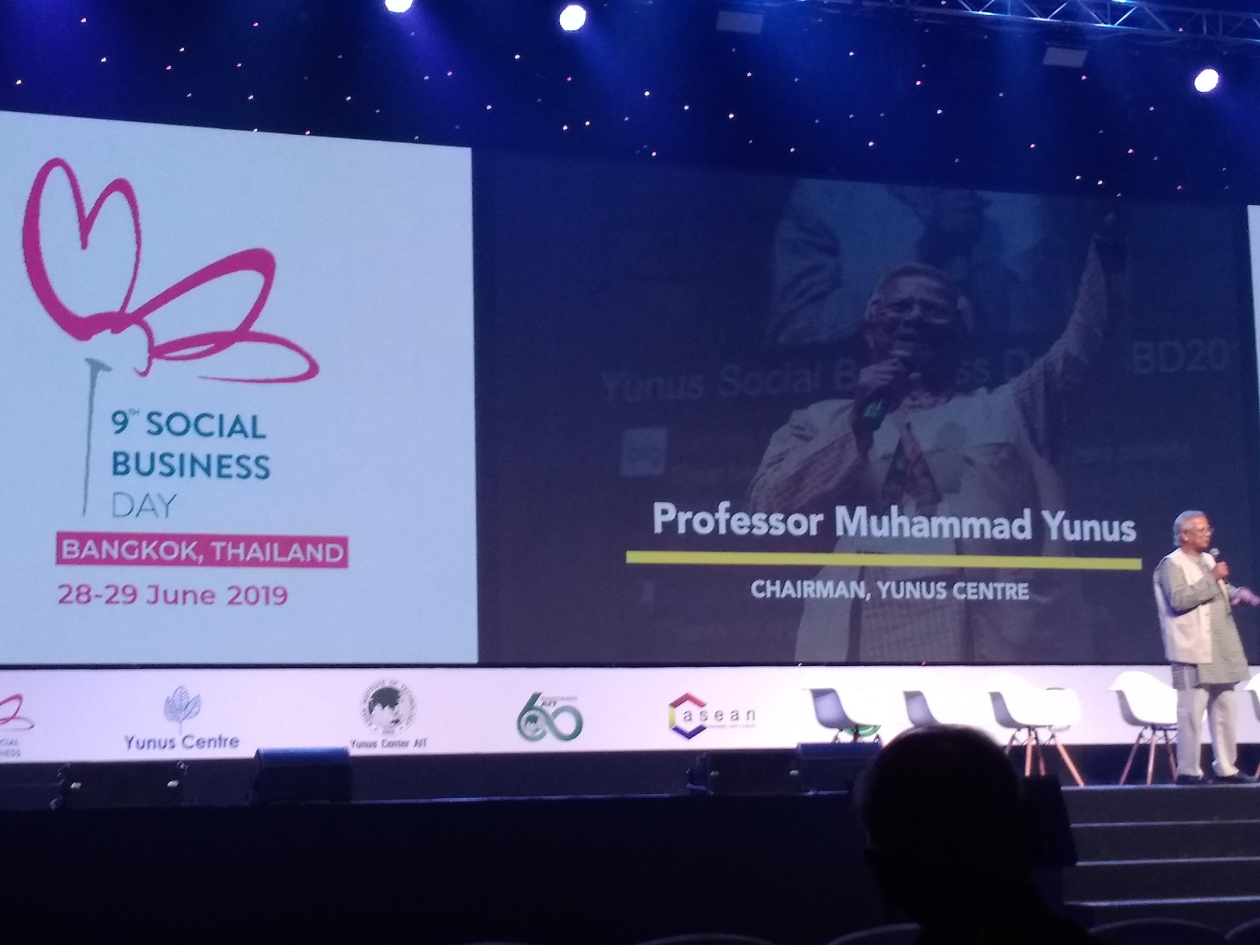 Gallery Video : Yunus Social Business Day, Bangkok 28th – 29th June 2019